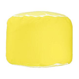 Zitronen-Wohngestaltung, Zitroneottoman-Sitz, Hocker