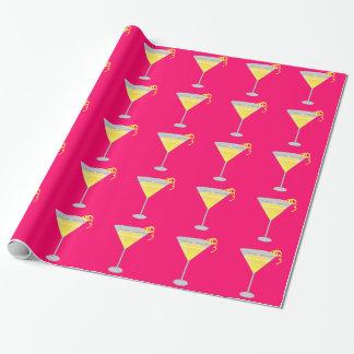 Zitronendrops-Packpapier Geschenkpapier