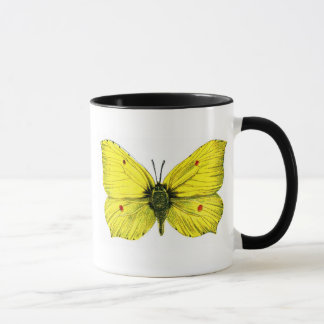Zitronenfalter Tasse