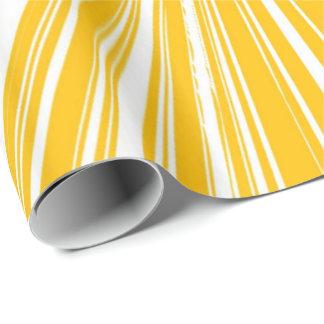 Zitronengelb Geschenkpapier