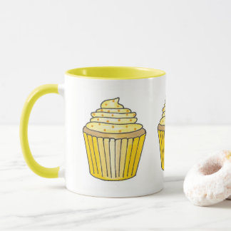 Zitronengelber Buttercream Tasse