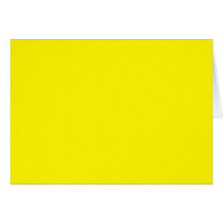 ZITRONENGELBES (feste fruchtige Farbe) ~ Karte