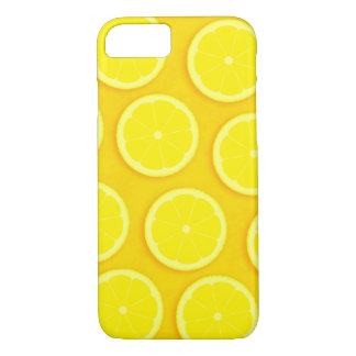 Zitronenscheibegelb grafischer iphone Fall iPhone 8/7 Hülle