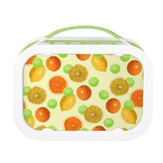 Zitrusfrucht-Pop Brotdose