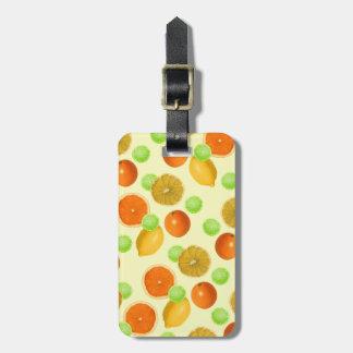 Zitrusfrucht-Pop Gepäckanhänger