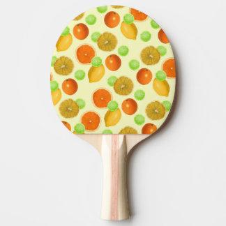 Zitrusfrucht-Pop Tischtennis Schläger