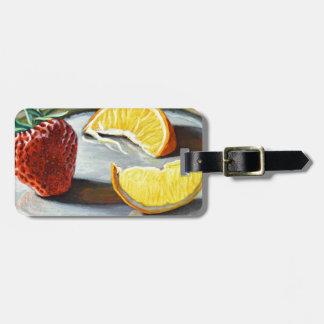 Zitrusfrucht-saftige Erdbeerorangen-Nr. 2 Kofferanhänger