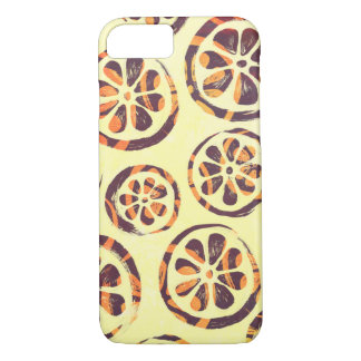 Zitrusfrucht-Scheibe-blasser Sonnenaufgang iPhone 8/7 Hülle