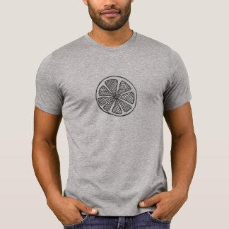 Zitrusfrucht-Scheibe-T - Shirt