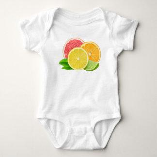Zitrusfrüchte Baby Strampler