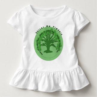 Zittere ich Bauhölzer Kleinkind T-shirt
