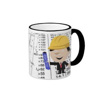 Zivile Ingenieur-Tasse Ringer Tasse