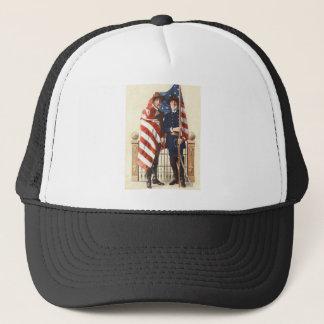 Zivile Krieg US-Flaggen-Gewerkschafts-verbündeter Truckerkappe