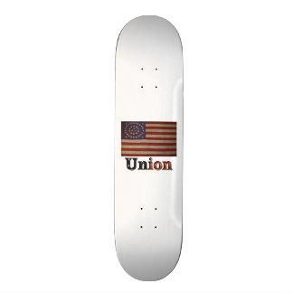 Zivile Kriegs-Flagge Gewerkschafts-Armee USA Personalisiertes Skatedeck