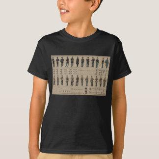 Zivile Kriegs-Gewerkschaft und verbündete T-Shirt