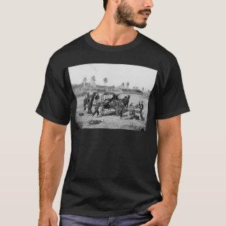 Zivile Kriegs-Krankenwagen-Crew T-Shirt
