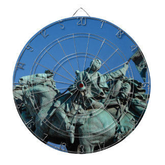Zivile Kriegs-Soldat-Statue in Washington DC_ Dartscheibe