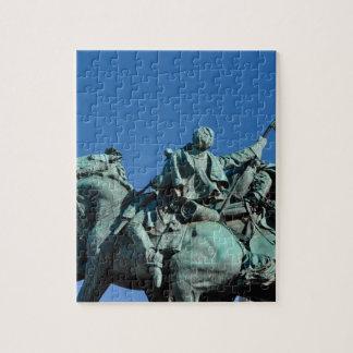 Zivile Kriegs-Soldat-Statue in Washington DC_ Puzzle