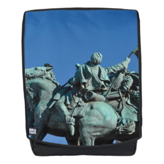 Zivile Kriegs-Soldat-Statue in Washington DC_ Rucksack