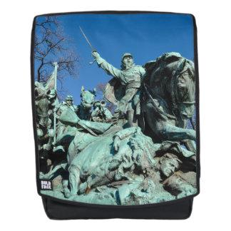 Zivile Kriegs-Statue in Washington DC Rucksack