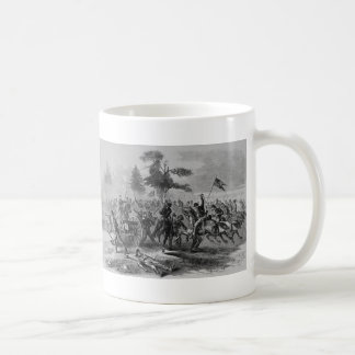 Zivile Kriegskavallerie greifen an Kaffeetasse