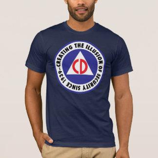 Zivile Verteidigung - 'enhanced T-Shirt