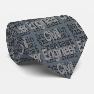 Ziviler Ingenieur Extraordinaire Personalisierte Krawatten