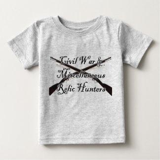 ziviler Krieg und verschiedenes Baby T-shirt