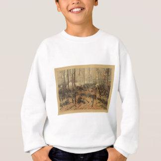 Ziviler Kriegs-Kampf von Shiloh durch Thur de Sweatshirt