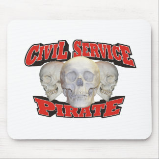 Ziviler Service-Pirat Mousepad
