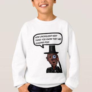 Zivilisierter Affe Sweatshirt