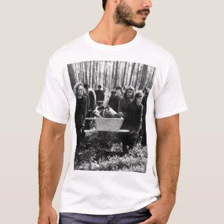 Zivilisten von Neunburg tragen victims_War Bild T-Shirt