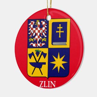 Zlin Weihnachtsverzierung Keramik Ornament