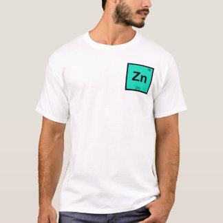 Zn - Zink-Chemie-Periodensystem-Symbol-Element T-Shirt