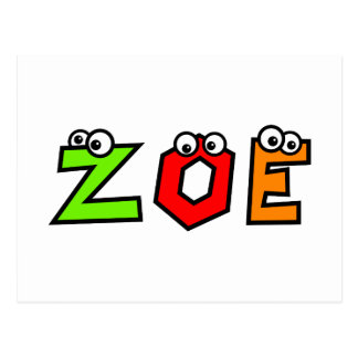 Zoe Postkarten