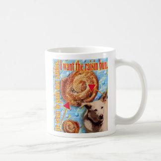 ZoeSPEAK - ich will das Rosinenbrötchen Kaffeetasse