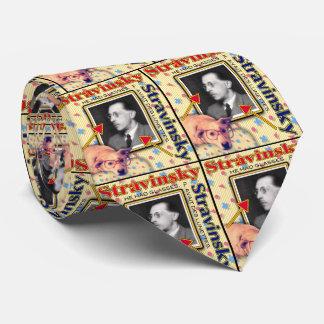 ZoeSPEAK - Stravinsky Bedruckte Krawatte