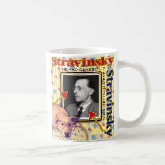 ZoeSPEAK - Stravinsky - er hatte Gläser Kaffeetasse