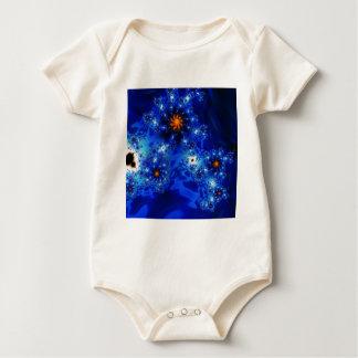 Zofyve Fraktal-Kunst-Entwurf Baby Strampler