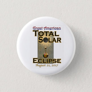Zoll des Eklipse-Knopfes 1 1/2 Runder Button 3,2 Cm