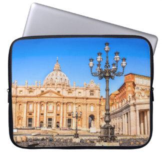 Zoll Vatikan der Neopren-Laptop-Hülse 15 Laptop Sleeve