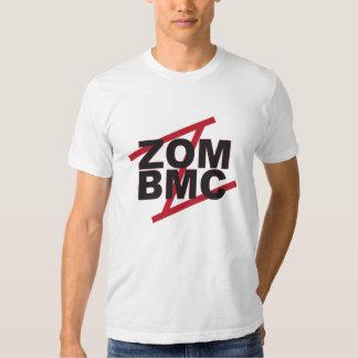ZOM BMC gotische Schriften auf rotem Z Shirt