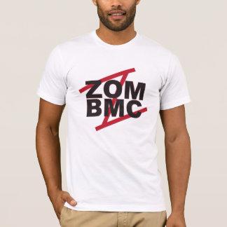 ZOM BMC gotische Schriften auf rotem Z T-Shirt