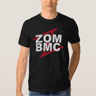 ZOM BMC weiße Buchstaben auf rotem Z T-Shirts