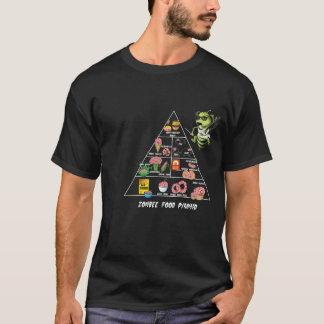 Zombee Ernährungspyramide T-Shirt