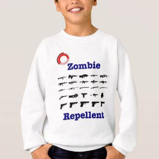 Zombie-Abwehrmittel mit Logo Sweatshirt