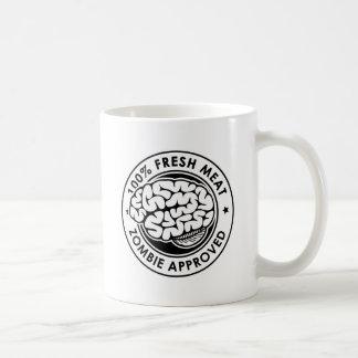 Zombie anerkannt kaffeetasse