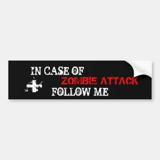 Zombie-Angriff Auto Sticker