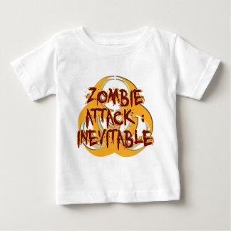 Zombie-Angriff unvermeidlich Baby T-shirt
