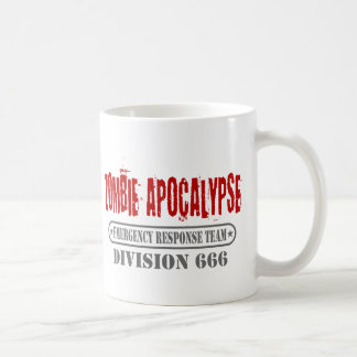 Zombie-Apokalypse-Abteilung 666 Kaffeetasse
